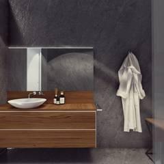 Rustic style bathrooms by STUDIO ARCHITETTURA SPINONI ROBERTO Rustic