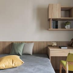 غرف نوم صغيرة تنفيذ 詩賦室內設計