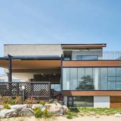 K: 건축사사무소 호반석(주)의  전원 주택,모던 콘크리트