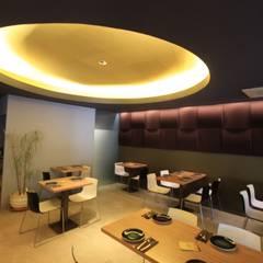 Reforma de Restaurante Sinapi: Locales gastronómicos de estilo  de Novodeco, Moderno