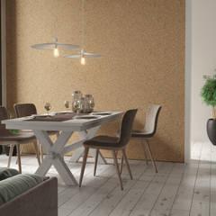 Interiores Criativos: Salas de jantar  por Go4cork,Moderno Cortiça