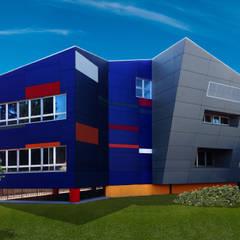 Rumah pasif oleh ABITAlab S.r.l., Modern Beton
