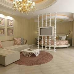 클래식 스타일 호텔 by KALYA İÇ MİMARLIK \ KALYA INTERIOR DESIGN 클래식 우드 우드 그레인