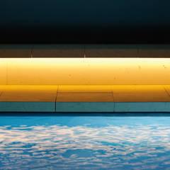 مسبح حديقة تنفيذ Ian Shaw Architekten,