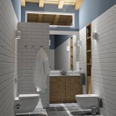 Bathroom by arQmonia estudio, Arquitectos de interior, Asturias,