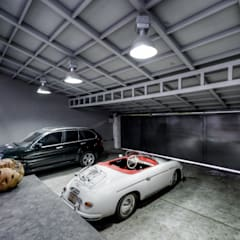 Prefabricated Garage by Con Contenedores S.A. de C.V., Industrial
