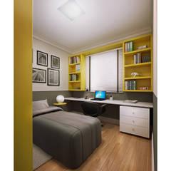 Apartamento Modelo por BRITA ARQUITETURA Moderno