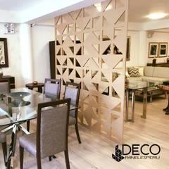 separador de ambientes : Comedores de estilo  por DecoPaneles Peru, Moderno