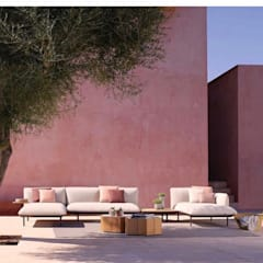 Passive house by Desarrolladora Raju, S.A. de C.V., Minimalist Sandstone
