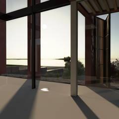 Balkon oleh Desarrolladora Raju, S.A. de C.V.