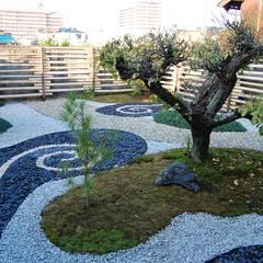 Zen garden by 岩井文彦建築研究所, Asian