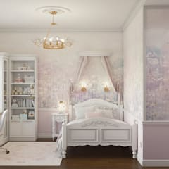 Girls Bedroom by «Студия 3.14», Classic