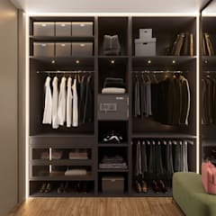 Dressing room by «Студия 3.14», Minimalist