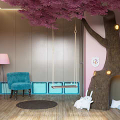 Girls Bedroom by «Студия 3.14»,