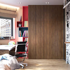 غرفة نوم أولاد تنفيذ «Студия 3.14», تبسيطي
