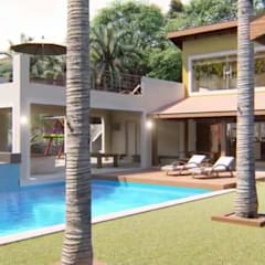 Rumah pedesaan oleh Luis Gandini Arquiteto e Urbanista