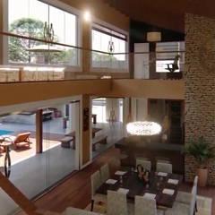 Country house by Luis Gandini Arquiteto e Urbanista,