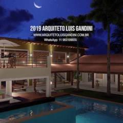 منزل ريفي تنفيذ Luis Gandini Arquiteto e Urbanista,