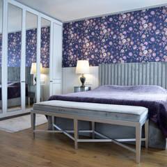 Small bedroom by Semi Mahdum İç Mimarlık, Eclectic Silver/Gold