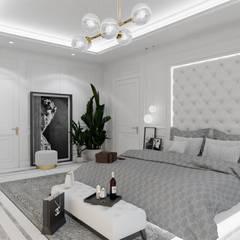 Belezza: styl , w kategorii Sypialnia zaprojektowany przez MOONFIELD STUDIO,Klasyczny