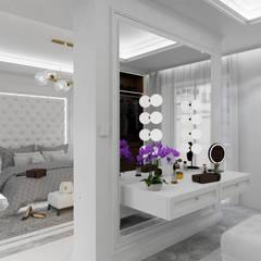 Belezza: styl , w kategorii Sypialnia zaprojektowany przez MOONFIELD STUDIO,