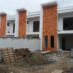 Casas geminadas - IRIRIU por Jr Arquitetura + interiores Moderno