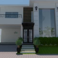 Jr Arquitetura + interiores의  테라스 주택, 클래식