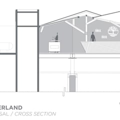 Restaurants de style  par IDEA Taller de Arquitectura,