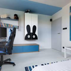Baby room by EWEM Aranżacja wnętrz Edyta Wełnicka, Modern Wood Wood effect