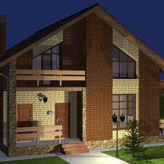 منازل التراس تنفيذ Arprojects | Проектирование домов
