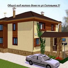 Terrace house by Arprojects | Проектирование домов, Industrial Bricks
