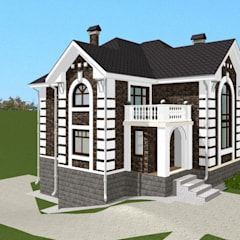 منزل ريفي تنفيذ Arprojects | Проектирование домов , كلاسيكي حجر
