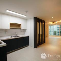 광장동 현대파크빌 25py: Design Daroom 디자인다룸의  주방,