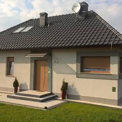Dom z Keramzytu:  tarz Küçük Evler, Klasik