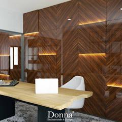 Apartamento Montijo : Escritórios e Espaços de trabalho  por Donna - Exclusividade e Design,Moderno