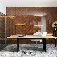 مكتب عمل أو دراسة تنفيذ Donna - Exclusividade e Design , حداثي