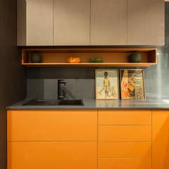 Apartamento Singular por arquiteta aclaene de mello Moderno MDF