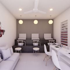 Visualización Arquitectónica: R20 Arquitectos: Spa de estilo  por R20 Arquitectos, Moderno