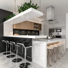 Built-in kitchens by Juve 3D Studio,
