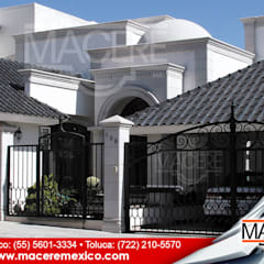 Hipped roof by MACERE México, Modern Ceramic