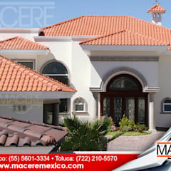 Hipped roof by MACERE México, Modern سرامک