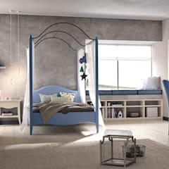 Girls Bedroom by Mobili a Colori ,