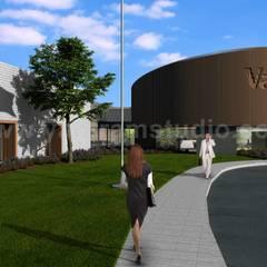Yantram Architectural Design Studioが手掛けたアプローチ, クラシック