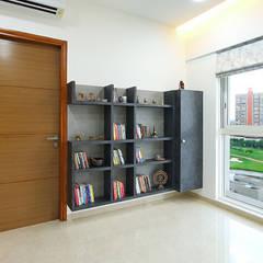 Lodha Belmondo:  Small bedroom by Area Planz Design,Modern