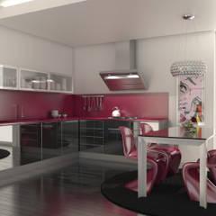 Cozinhas por Redbee Minimalista