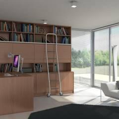 Interiores: Escritórios e Espaços de trabalho  por Redbee,Moderno