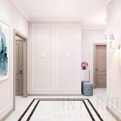Дизайн-проект  2 - комнатной квартиры в Ялте.: Коридор и прихожая в . Автор – Дизайн студия 'Хороший интерьер',