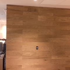 اتاق کار و درس توسطOrtiz Construcciones y Remodelacion Integral, مدیترانه ای کامپوزیت چوب و پلاستیک
