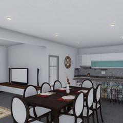 餐廳 by ARBOL Arquitectos ,