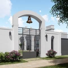 منزل ريفي تنفيذ ARBOL Arquitectos , إستعماري